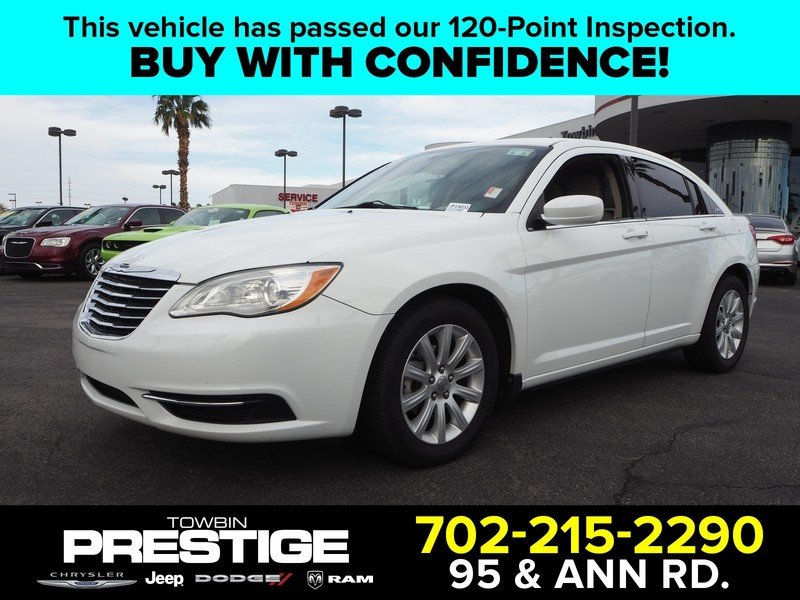 Pre-Owned 2012 CHRYSLER 200 TOURING V6