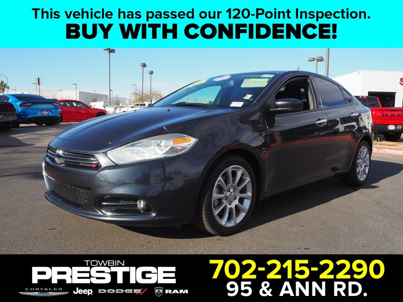 Pre-Owned 2014 DODGE DART LIMITED TECH