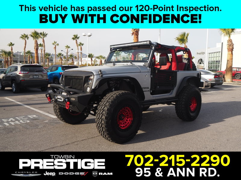 Pre-Owned 2015 JEEP WRANGLER SPORT 4X4