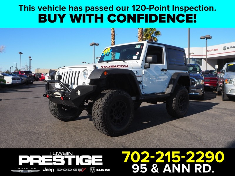 Pre-Owned 2016 JEEP WRANGLER RUBICON 4X4