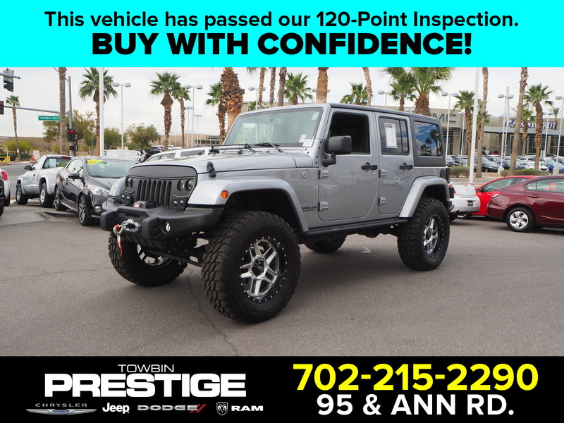 Pre-Owned 2017 Jeep Wrangler Unlimited Sahara Winter