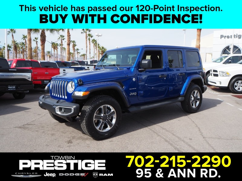 Pre Owned 2018 Jeep Wrangler Unlimited Sahara