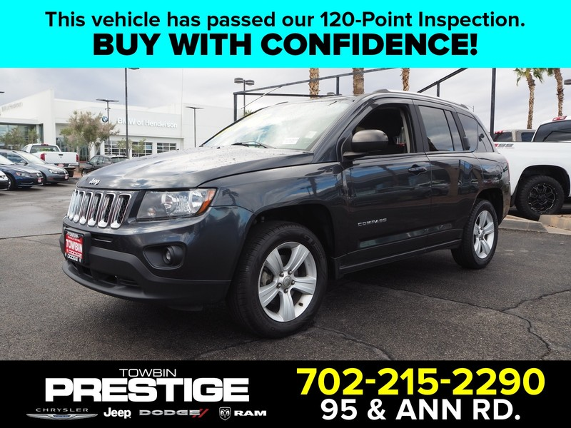 Pre-Owned 2014 JEEP COMPASS SPORT 4X4