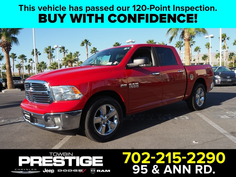 Pre-Owned 2017 RAM 1500 BIG HORN 4X2 CREW CAB 5'7
