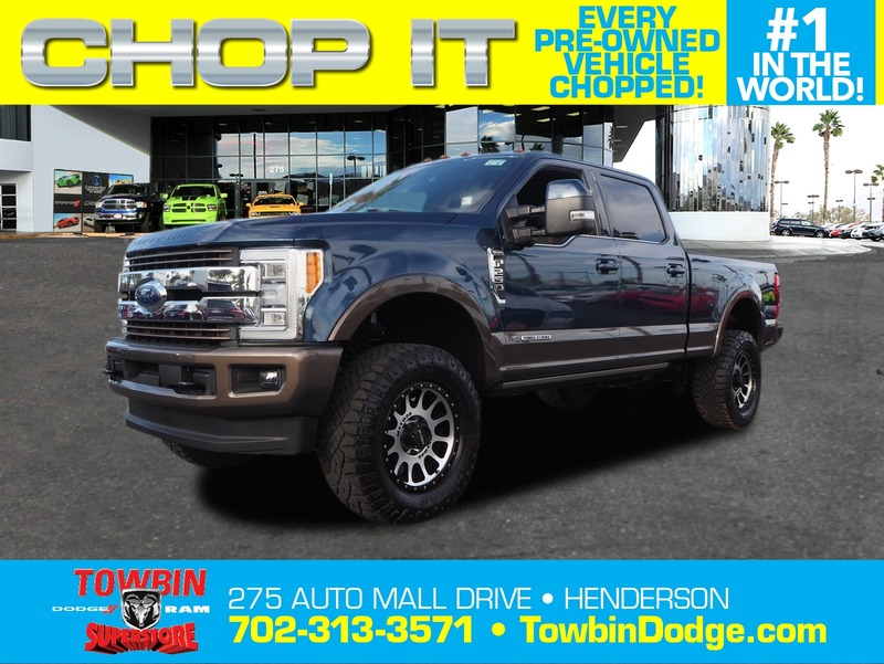 Pre Owned 2017 Ford F 250sd King Ranch 4d Crew Cab In Las Vegas