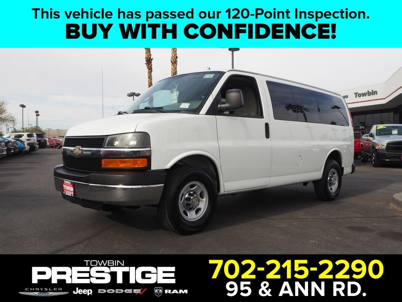 Pre-Owned 2011 CHEVROLET EXPRESS G1500 LT