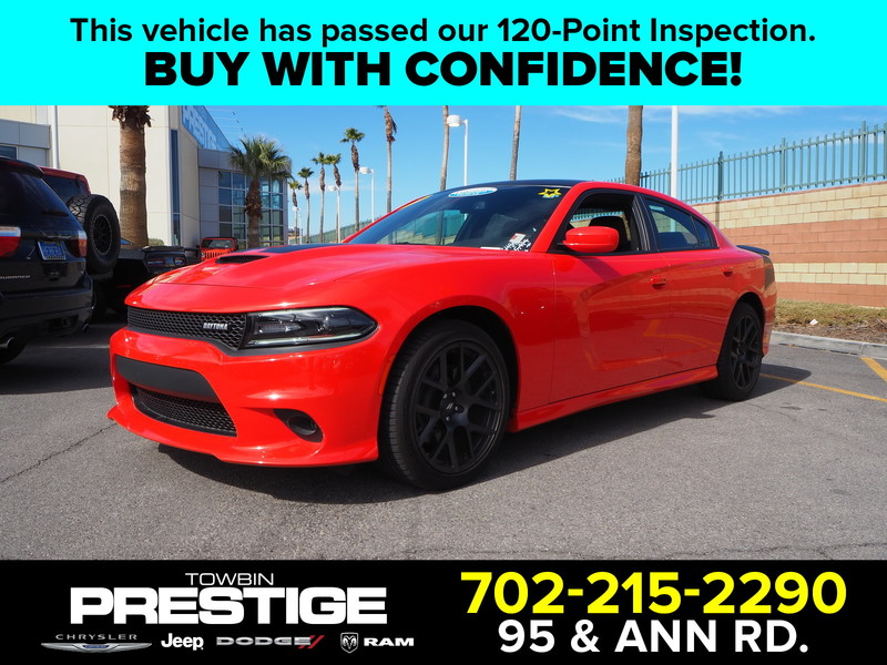 Pre-Owned 2017 DODGE CHARGER R/T BEATS