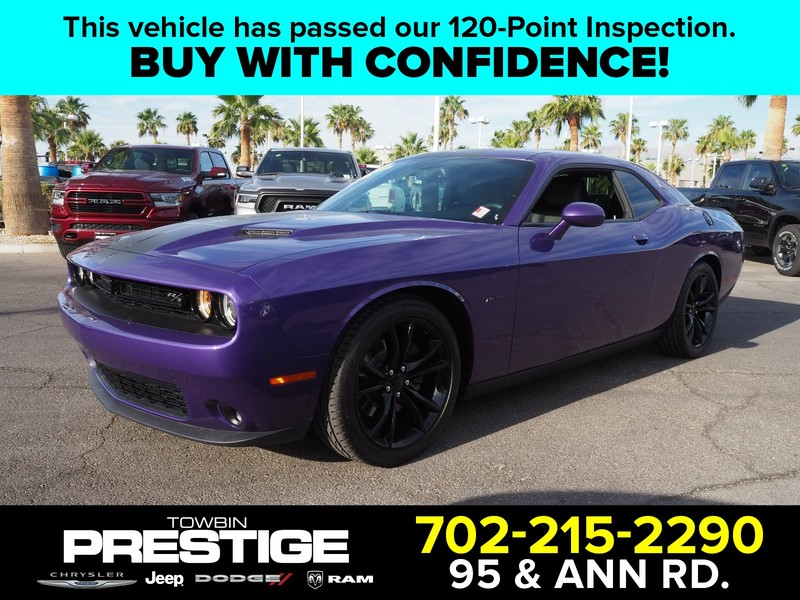 Certified Pre-Owned 2016 DODGE CHALLENGER 2DR CPE R/T PLUS