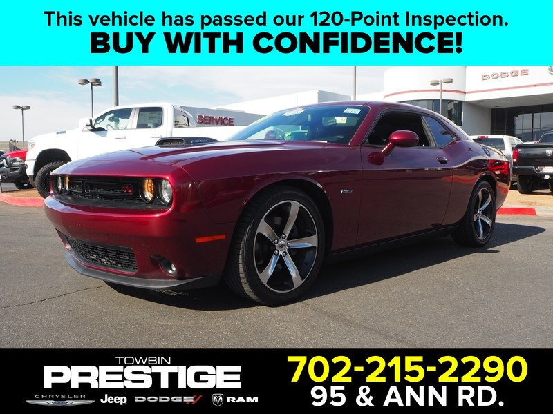 Pre-Owned 2017 DODGE CHALLENGER R/T PLUS SHAKER