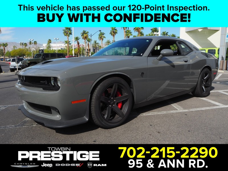 Pre Owned 2018 Dodge Challenger Srt Hellcat