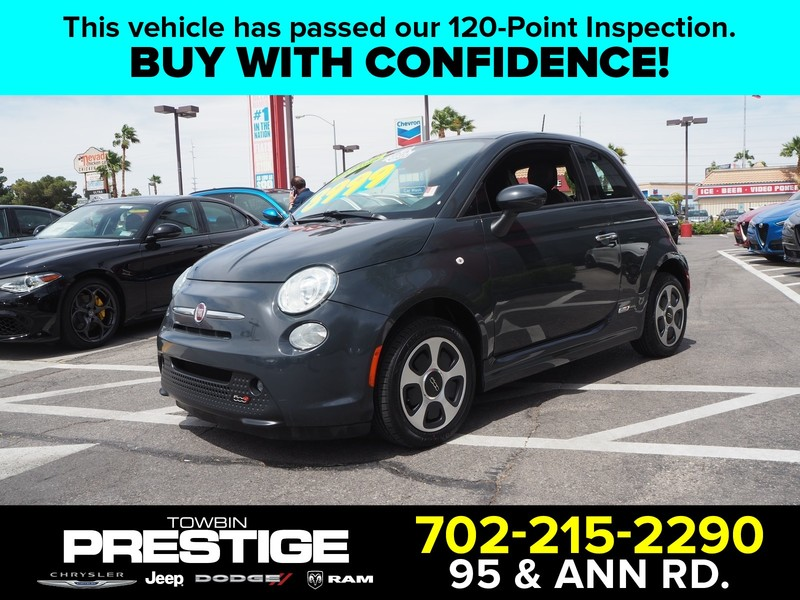 Pre Owned 2016 Fiat 500e Battery Electric