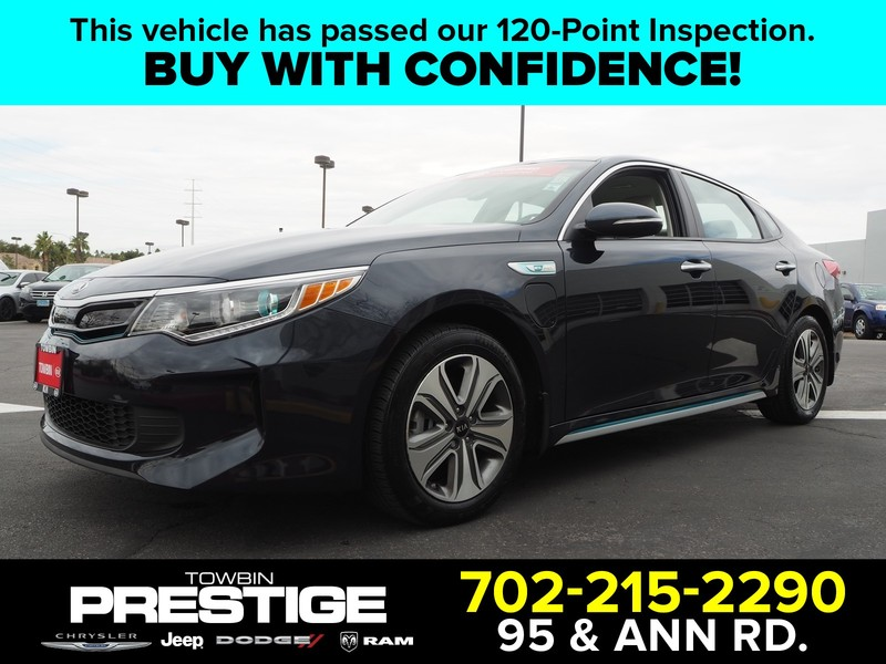 Pre Owned 2018 Kia Optima Plug In Hybrid Ex