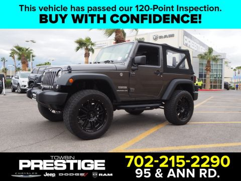 Pre-Owned 2016 JEEP WRANGLER SPORT 4X4