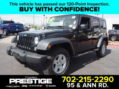 Pre-Owned 2015 JEEP WRANGLER SPORT C 4X4