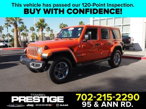 Certified Pre-Owned 2018 JEEP WRANGLER UNLIMITED