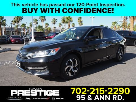 Pre-Owned 2017 Honda ACCORD SEDAN LX CVT