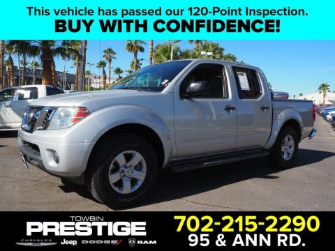 Pre-Owned 2013 NISSAN FRONTIER 2WD CREW CAB SWB AUTO SV