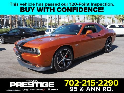 Pre-Owned 2011 DODGE CHALLENGER 2DR CPE SRT8
