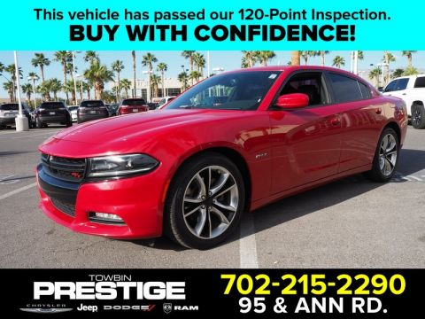 Pre-Owned 2015 DODGE CHARGER 4DR SDN ROAD/TRACK RWD