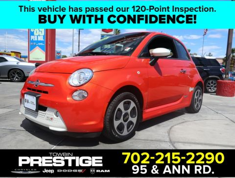 Pre-Owned 2014 FIAT 500e Battery Electric