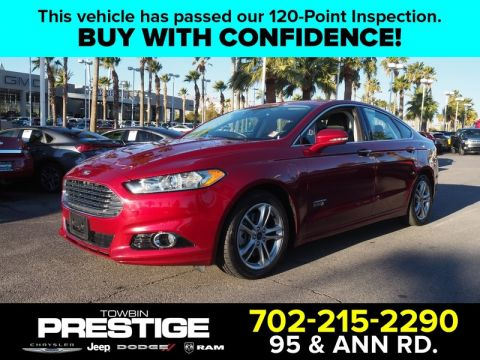 Pre-Owned 2016 FORD FUSION ENERGI 4DR SDN TITANIUM